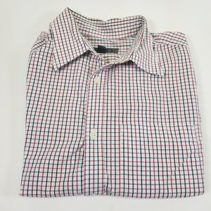 Old Navy Men's Button-Up Casual Plaid Shirt, Med